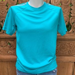 SampleStock ADIDAS Blue Climacool Tee Shirt